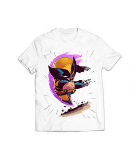 wolverine printed graphic t-shirt