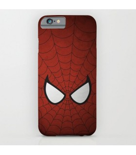 spiderman eyes art printed mobile cover