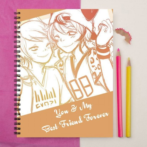 You Are My Best Friend Forever Printed Notebook Rs599 Price Online
