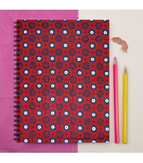 ajrak Printed Notebook