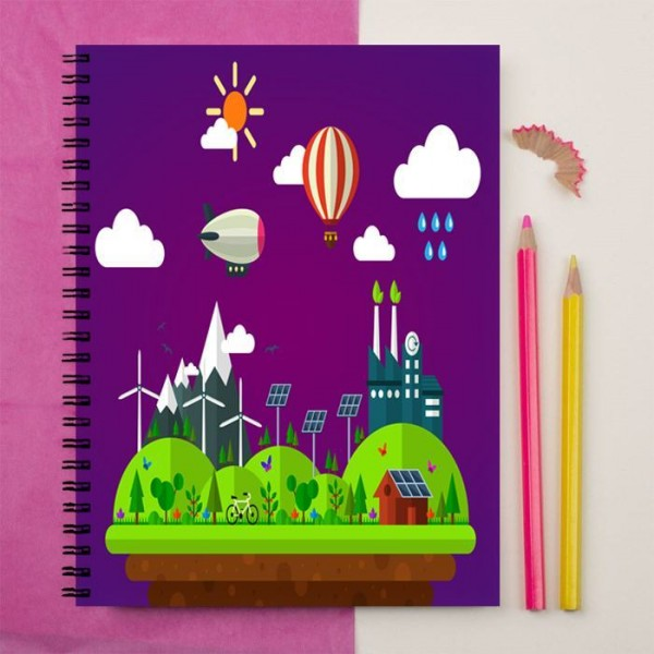 Rich Home Art Printed Notebook