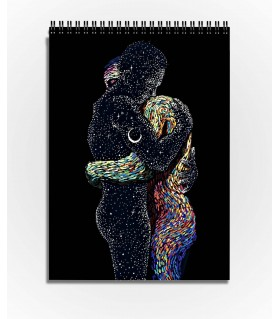 james r eads design art printed sktechbook