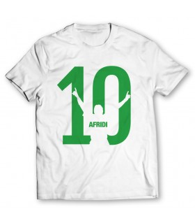 Afridi 10 printed graphic t-shirt