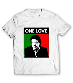 one love imran khan printed graphic t-shirt