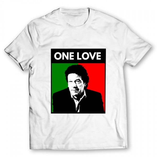 21181fd97 One Love Imran Khan Printed Graphic T-shirt. Product Code : GRTES1537. Rs. 699