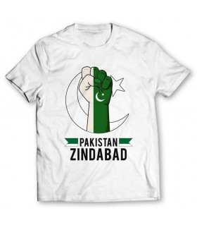 pakistan zindabad printed graphic t-shirt