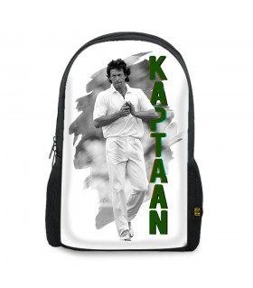 kaptaan printed backpacks