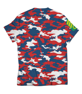 camouflage all over printed t-shirt