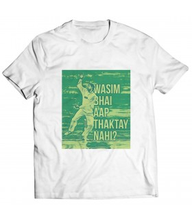 wasim bhai printed graphic t-shirt