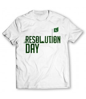 resolution day printed graphic t-shirt