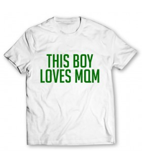 loves mqm printed graphic t-shirt