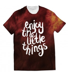little things all over printed t-shirt