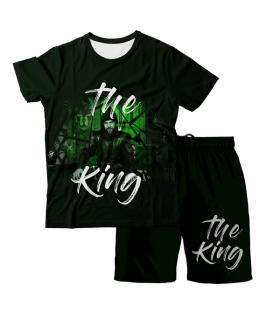 The King Ertugrul Tshirt And Short Combo