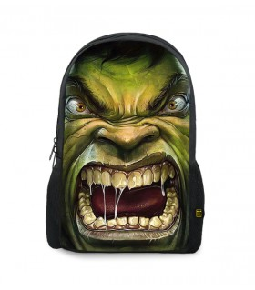 hulk printed backpacks