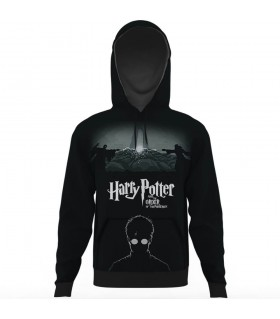 harry potter all over printed hoodie