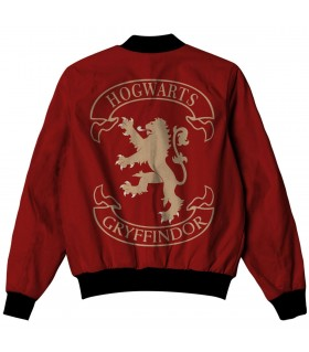 gryffindor all over printed jacket