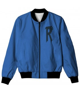 ravenclaw all over printed jacket