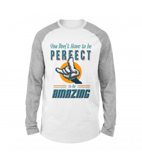 Keep Amazing Printed Raglan T-Shirt