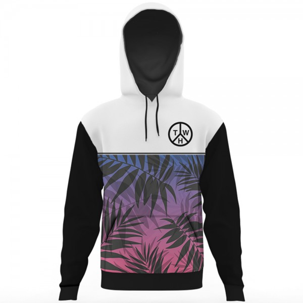 Twh All Over Printed Hoodie