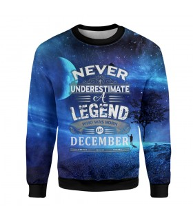 december printed sweatshirt