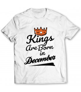 december printed graphic t-shirt