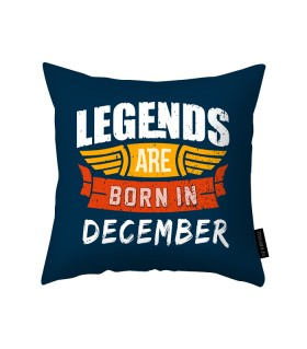 december printed pillow