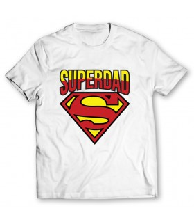 superdad printed graphic t-shirt
