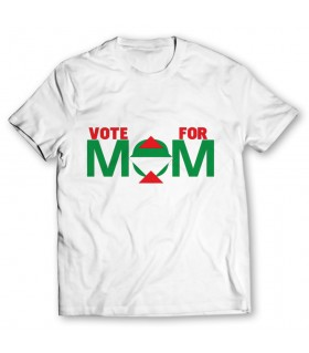 vote for mqm printed graphic t-shirt
