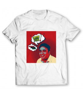 vote for ppp printed graphic t-shirt