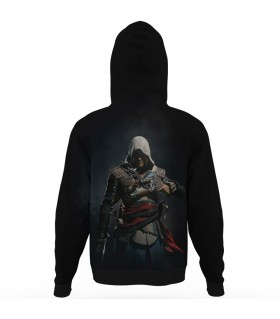 assassins creed black flag ALL OVER PRINTED HOODIE