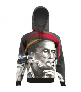 Bob marley All Over Printed Hoodie