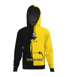 Breaking Bad yellow black All Over Printed Hoodie