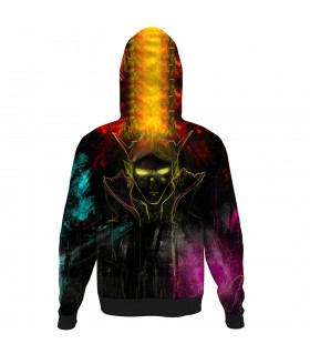 Invoker Wizard ALL OVER PRINTED HOODIE