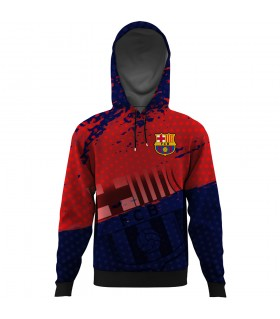 barcelona ALL OVER PRINTED HOODIE