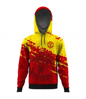 manchester united ALL OVER PRINTED HOODIE