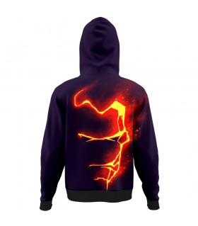 Iron man All Over Printed Hoodie