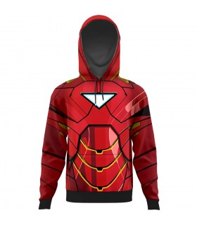 Iron man suit All Over Printed Hoodie