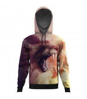 Lion All Over Printed Hoodie