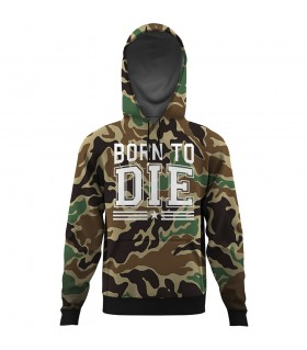 born to die ALL OVER PRINTED HOODIE