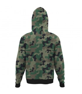 i love pak army ALL OVER PRINTED HOODIE