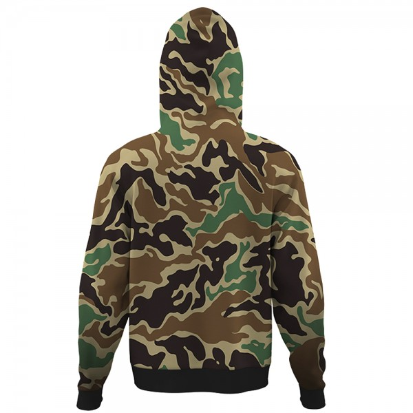 proud pak army soldier ALL OVER PRINTED HOODIE