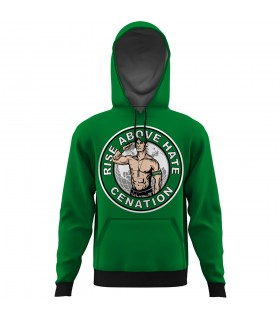 rise above hate cenation ALL OVER PRINTED HOODIE