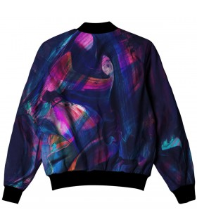 abstract all over printed jacket