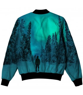alone all over printed jacket