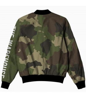 camouflage all over printed jacket