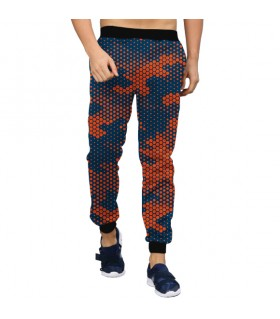 dots camouflage jogger pant