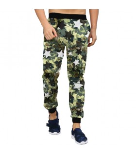 star camouflage jogger pant