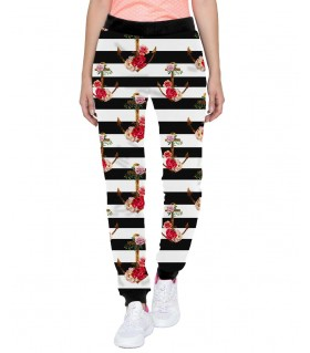 flower anchor jogger pant