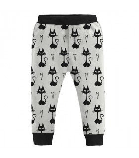 black cats kids jogger pant