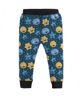 moon and stars kids jogger pant